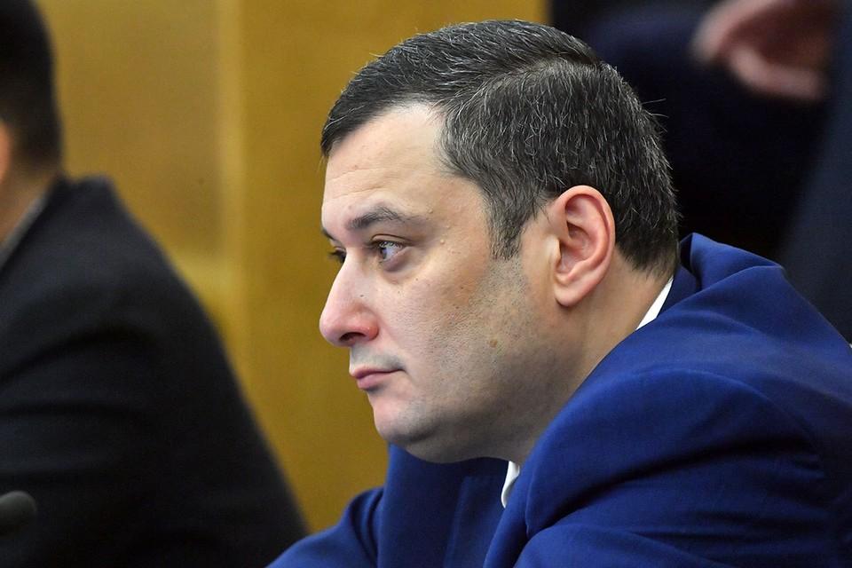 Депутат Государственной думы Александр Хинштейн.