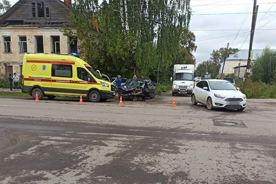 Четыре человека получили травмы в ДТП Фото: УГИБДД России по Тверской области