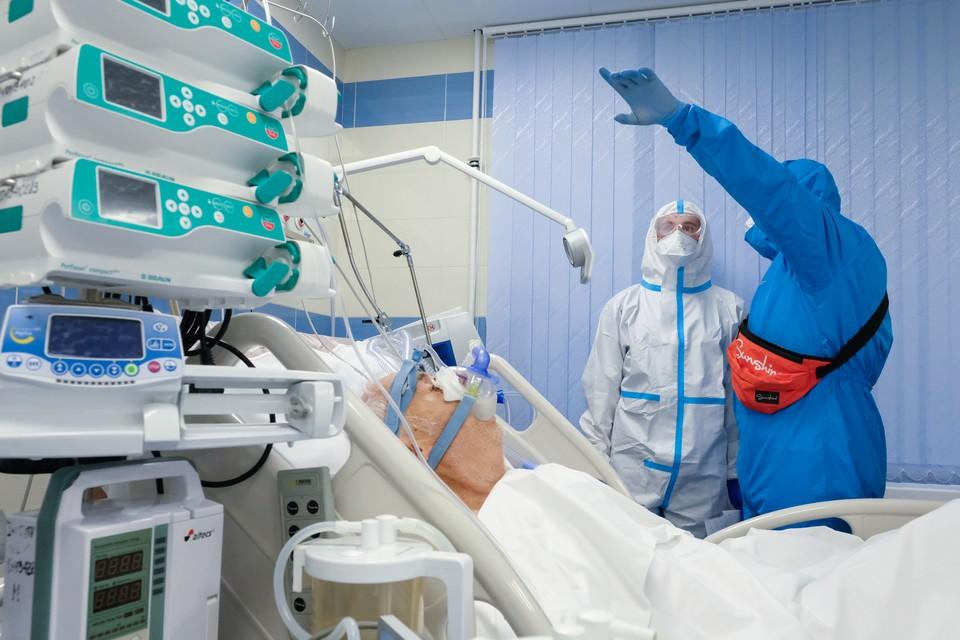 В Петербурге выросла суточная госпитализация больных коронавирусом