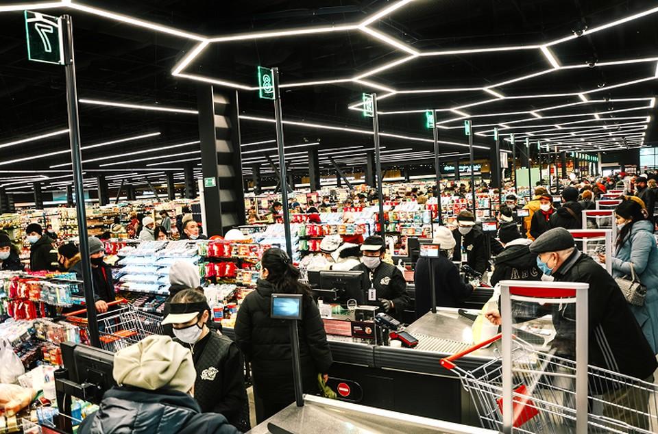 При открытии магазинов торговая сеть ориентируется на потребности жителей ближайших районов.