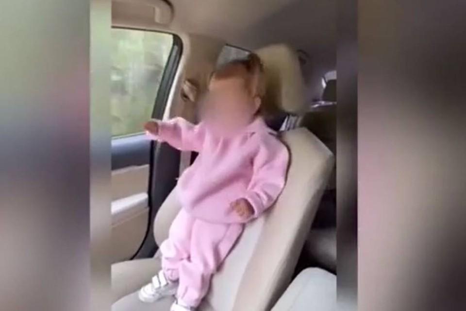 Иркутскую блогершу подписчики сдали полиции за сторис с малышом на переднем сидении и без автокресла