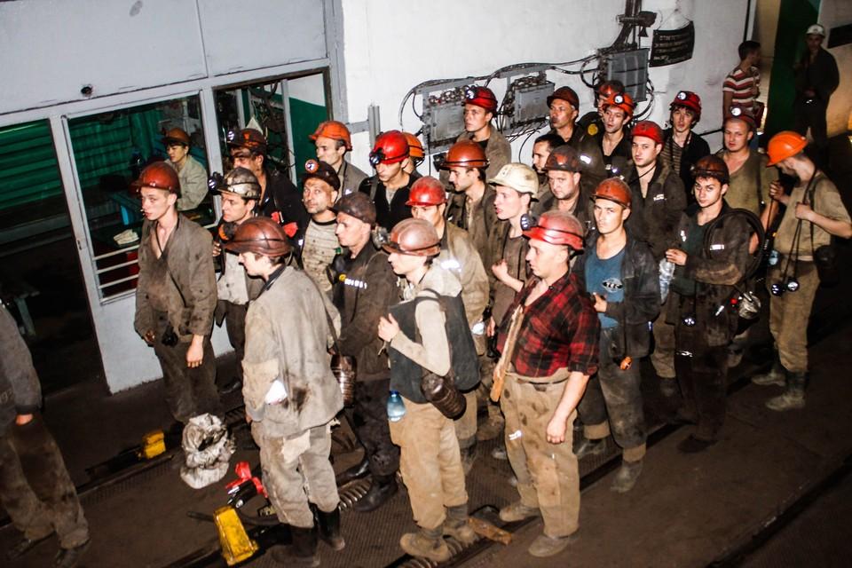 С шахты эвакуировали всех рабочих