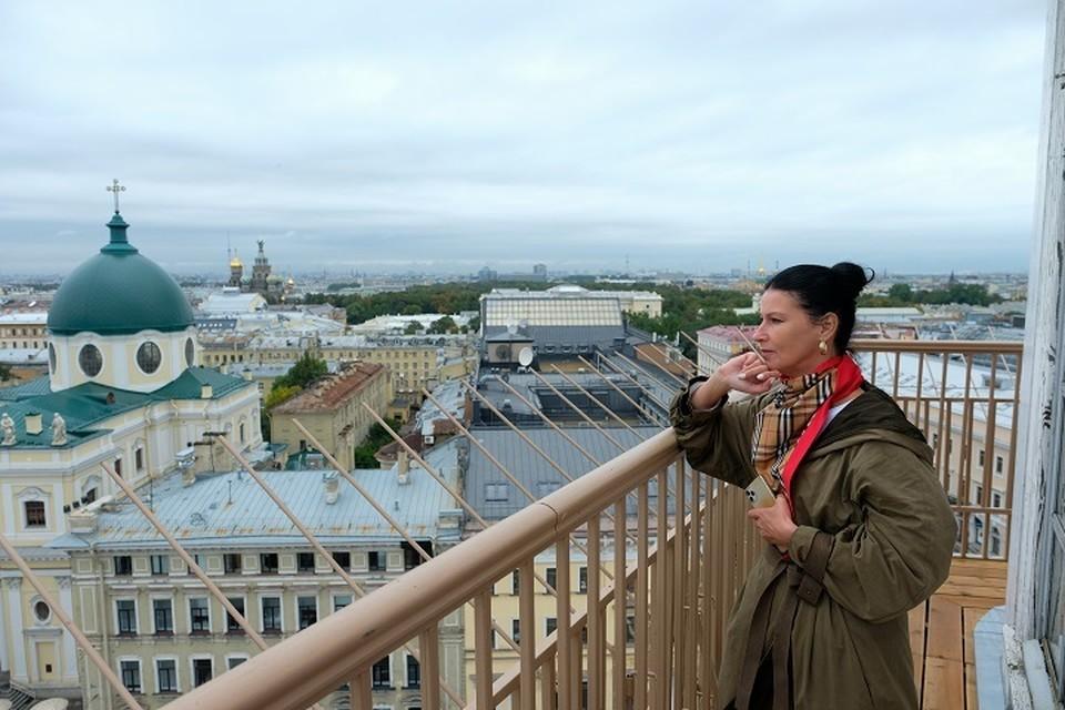 С высоты почти 50 метров видно все достопримечательности города.