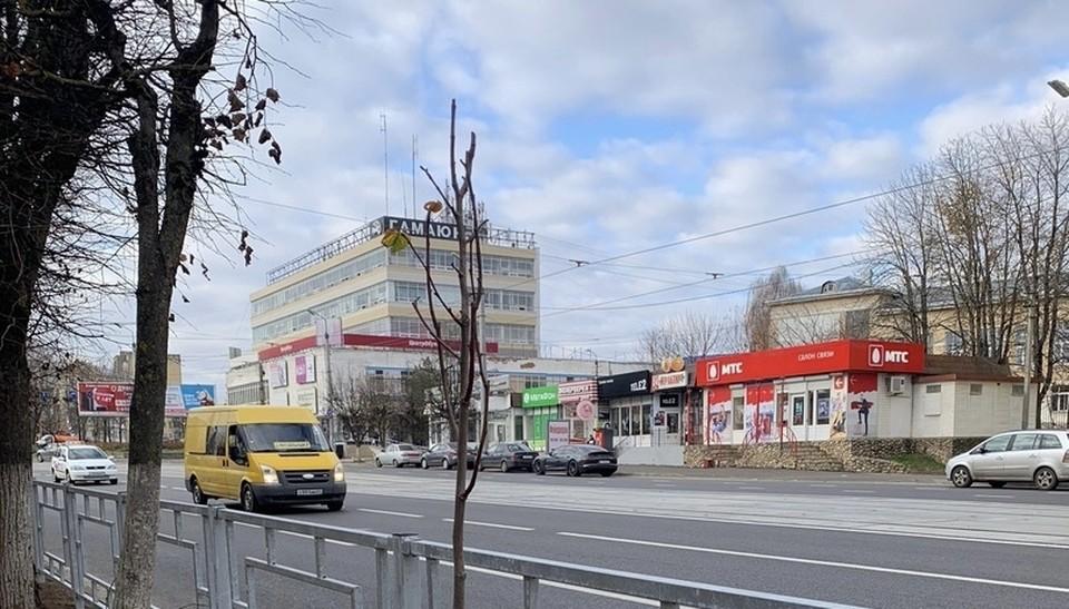 Глава Смоленска запретил строительство торгового центра на проспекте Гагарина. Фото: пресс-служба администрации города Смоленска.