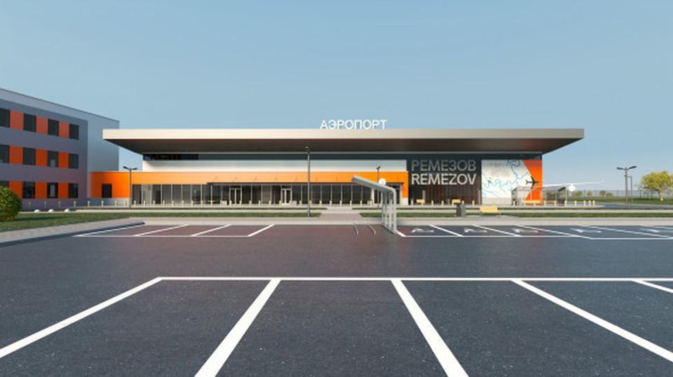 Аэропорт напоминает музейный комплекс Фото: Skimen Studio