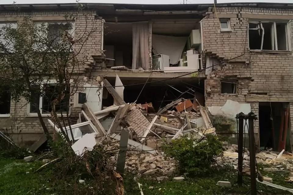 30 августа в Красном Холме в доме №5 по Заводскому переулку взорвался бытовой газ. Фото: vk.com/kholm69