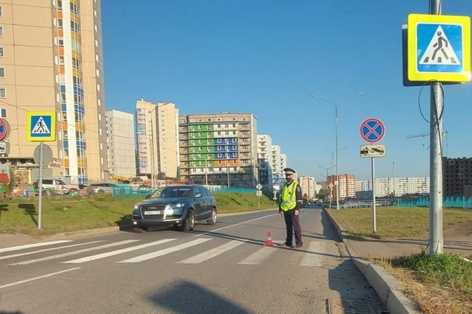 В Красноярске женщина-водитель наехала на подростка и скрылась. Фото: ГИБДД города