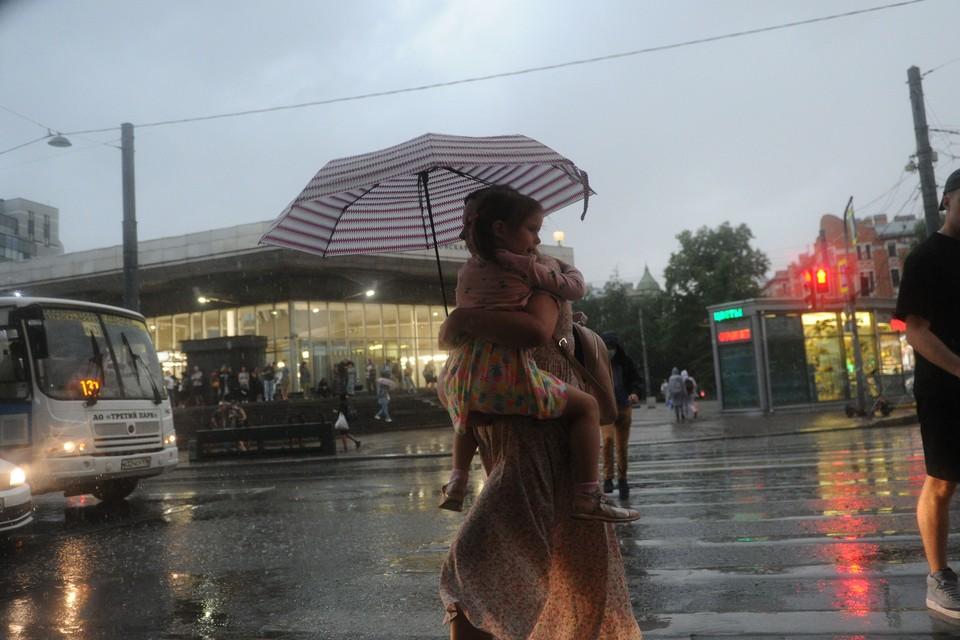 Дожди и грозы обрушатся на Северную столицу 12 сентября.