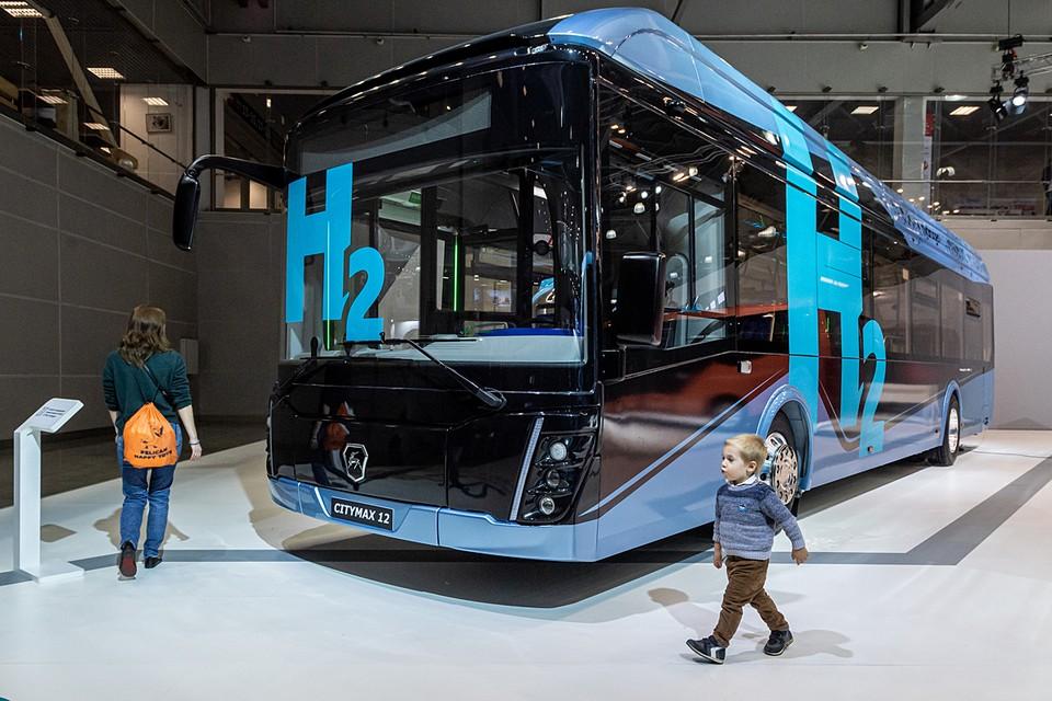 Электробус «Сitymax-12», работающий «на водородных топливных элементах»