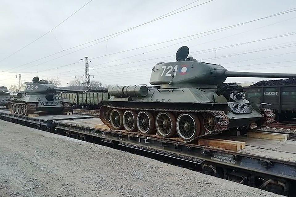 В России рассказали о секрете Т-34, который обеспечил преимущество перед немецкими танками Фото: пресс-служба Минобороны России