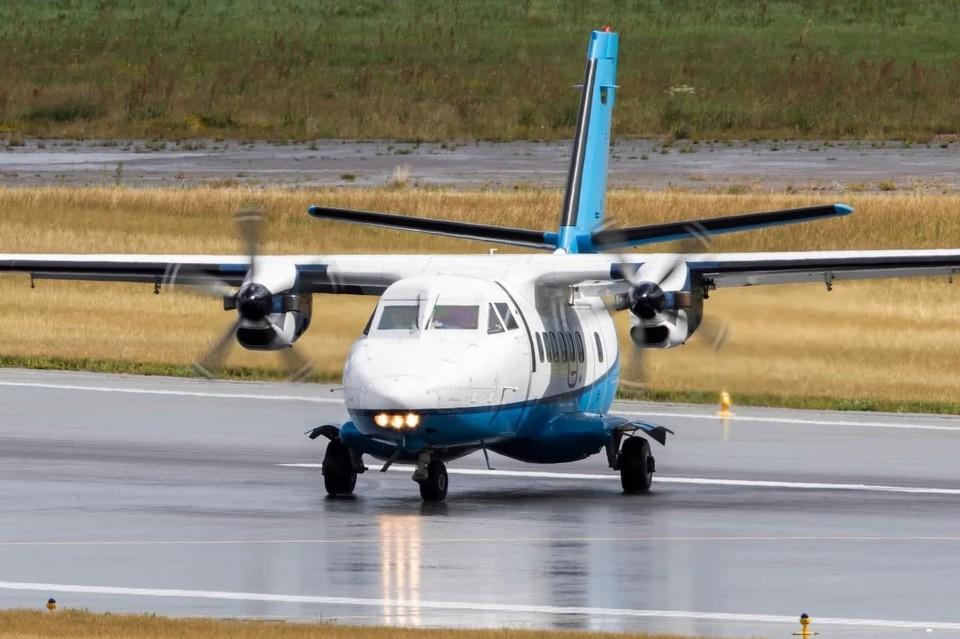 Вот такой самолет разбился в тайге.