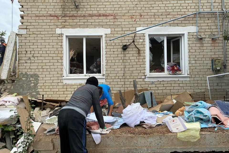 Пострадавшим при взрыве начнут выплачивать материальную помощь