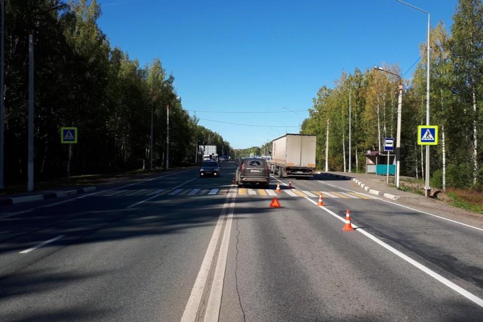 Авария произошла 12 сентября на 15 км автодороги «Вятка». Фото: vk.com/gibdd43