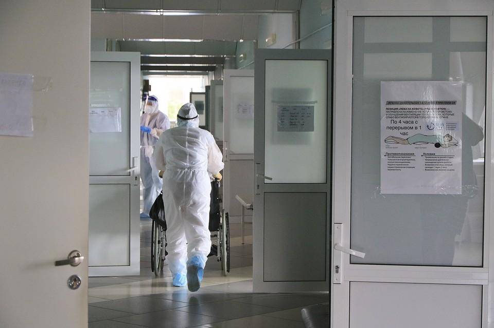 Лечение в стационарах сейчас получают 3542 пациента
