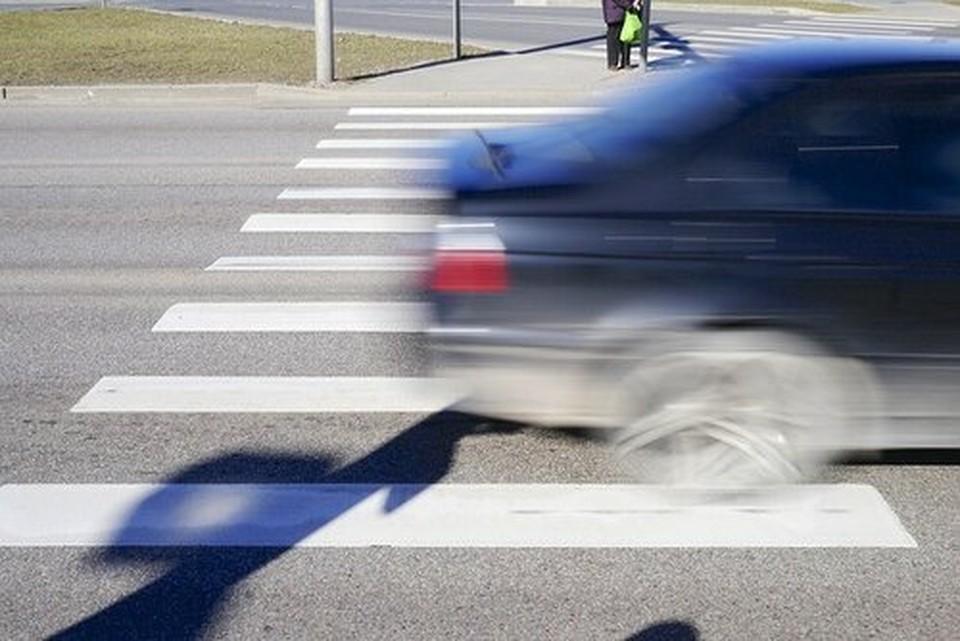 ДТП произошло на пешеходном переходе. Фото: соцсети
