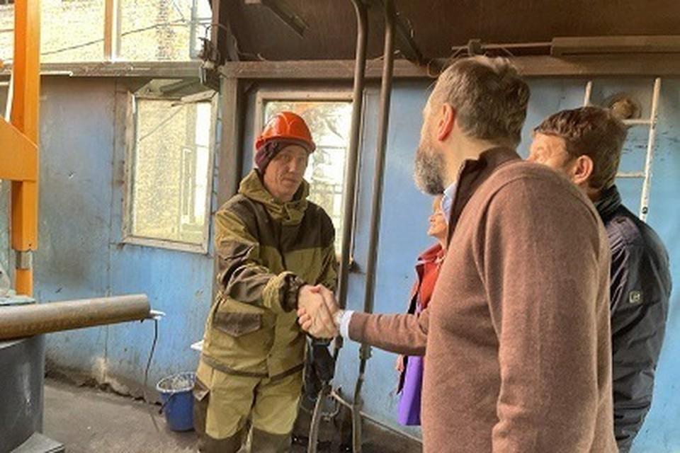 Состояние котельной в селе Алехино проверили депутаты.