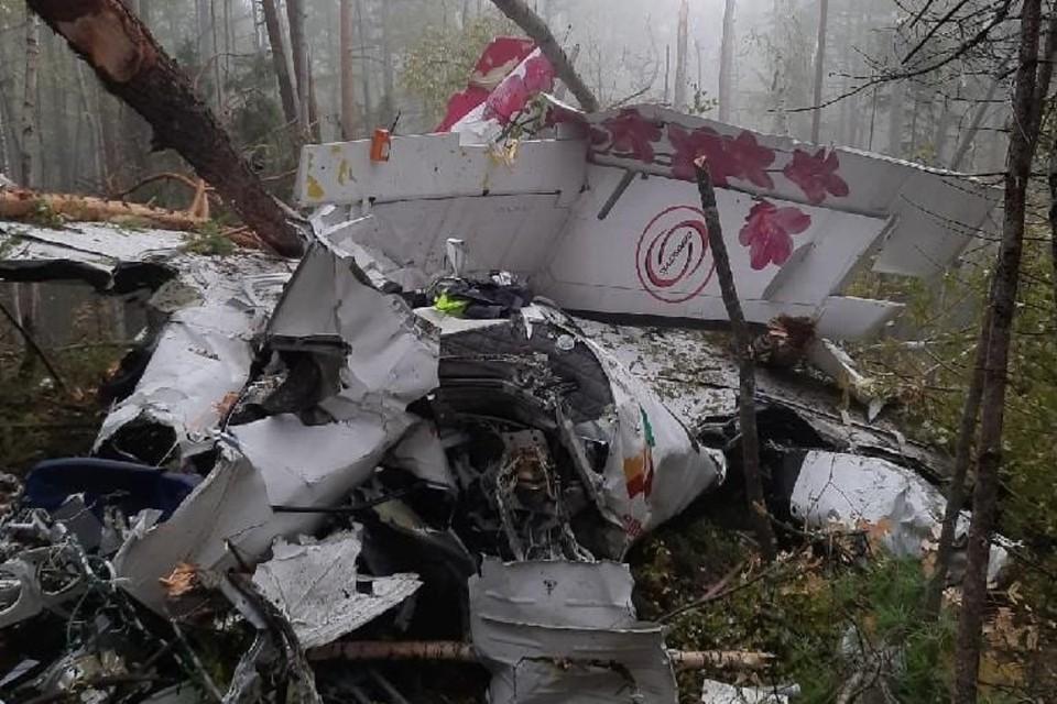 Режим ЧС введен в Казачинско-Ленском районе после крушения самолета L-410. Фото: Восточно-Сибирская транспортная прокуратура