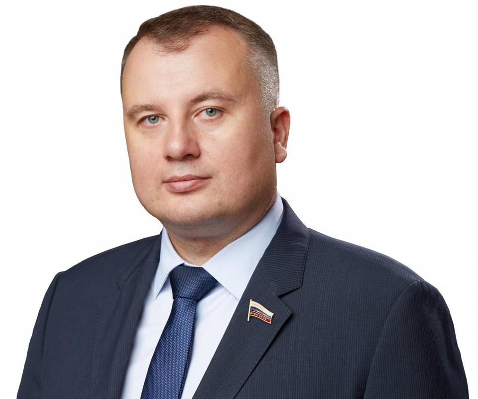 Депутат Государственной Думы РФ, член фракции «Единая Россия» Виктор Дзюба.