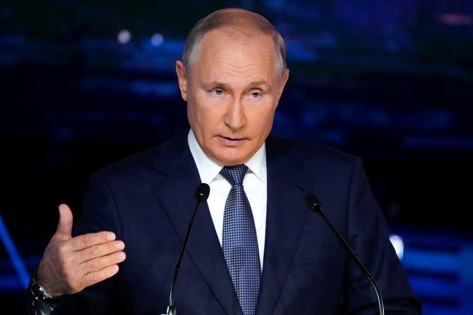 Владимир Путин заявил, что Россия обладает уникальной военной техникой