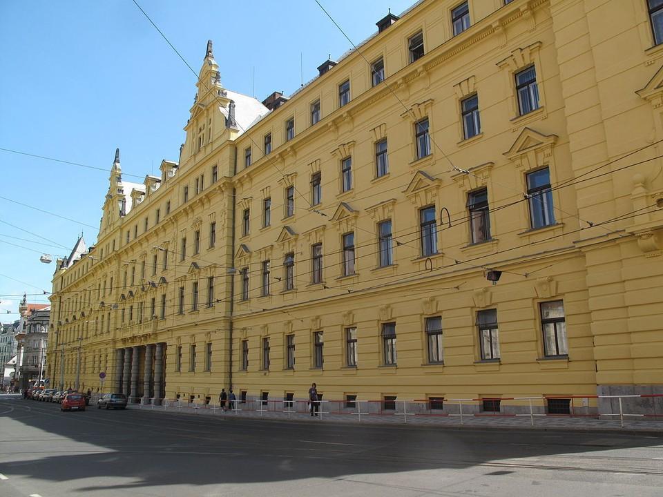 Здание городского суда в Праге