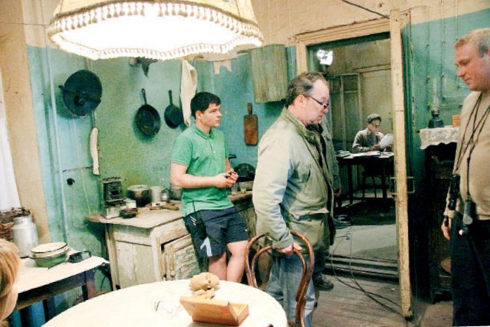 Съемочная группа «Москино» неделю жила и работала на улице Венцека, 50.