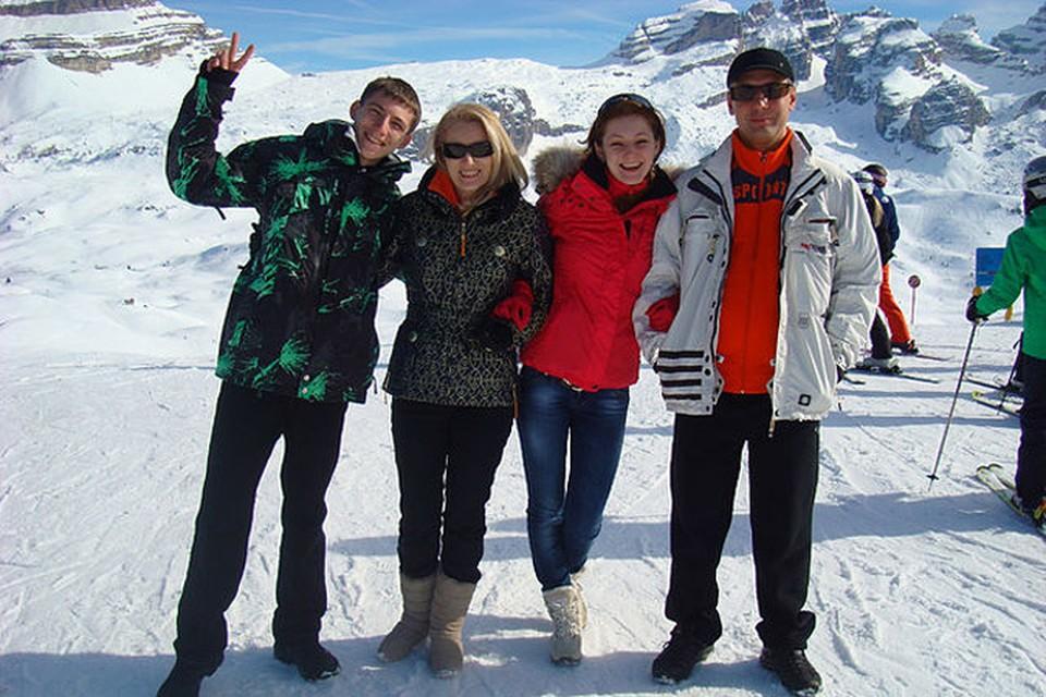 Семья Юдиных потеряла в Альпах свою женскую половину
