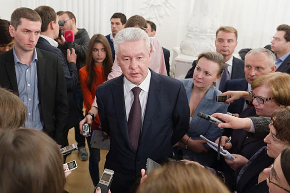 Беседа состоялась накануне даты - три года с начала работы Сергея Собянина в должности мэра Москвы