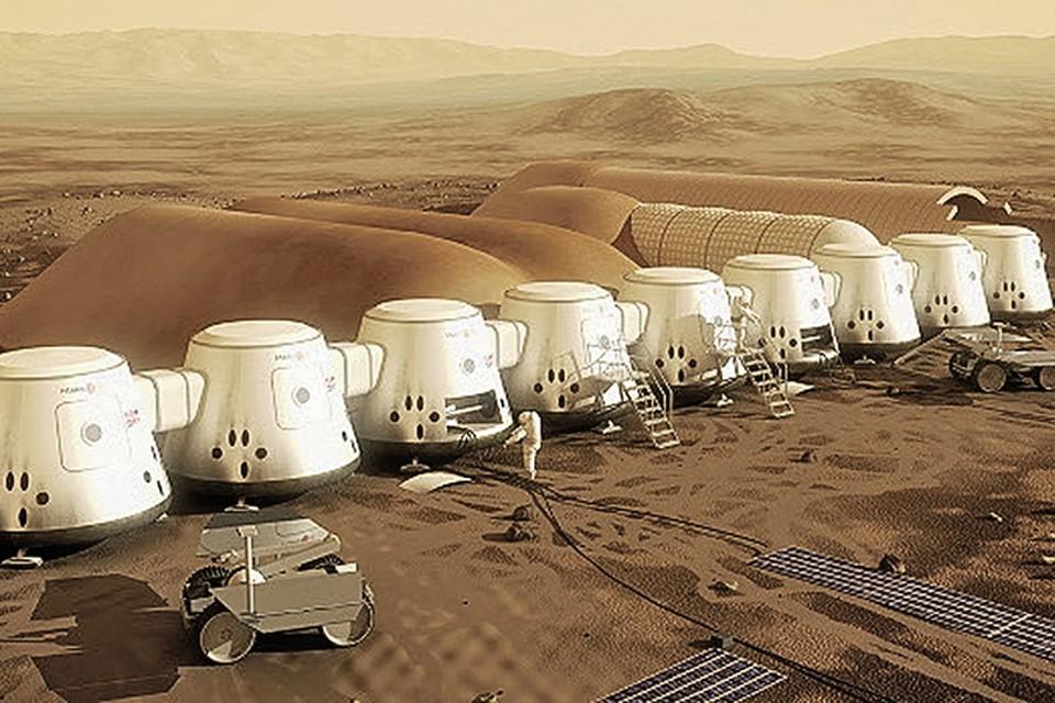 В 2022 году на планету спустят жилые модули.