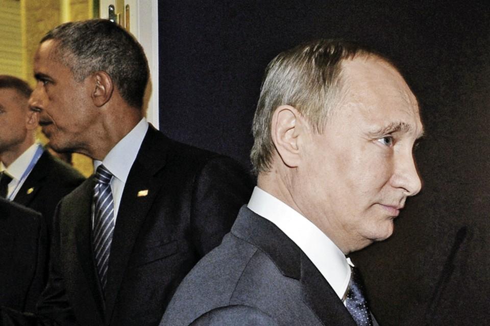 Путин с Обамой сразу же ушли в отдельный зал и весь их диалог проходил за закрытыми дверями.