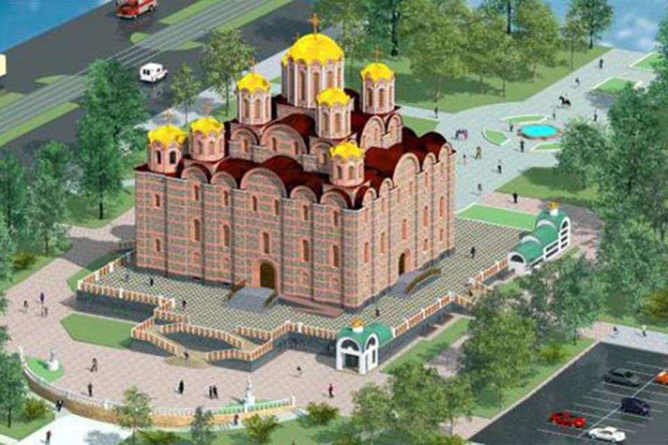 Софийский собор в Витебске предполагают построить по образцу Новгородского и Киевского.