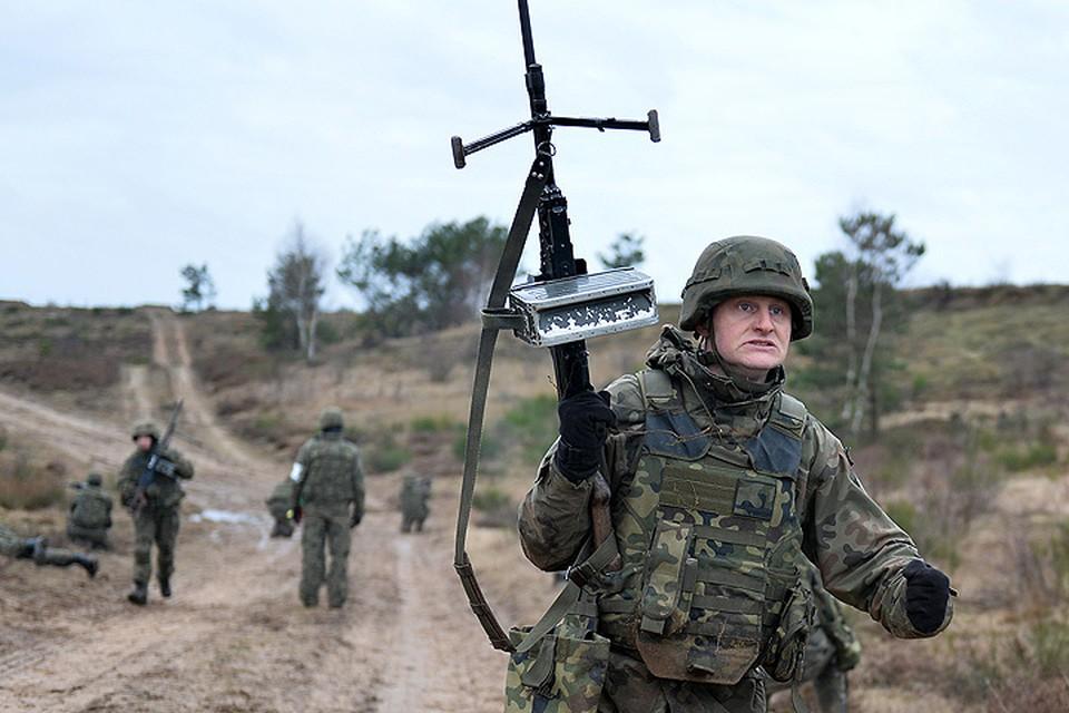 Учения войск НАТО в Польше.