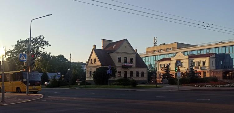 Улица 17 Сентября в Гродно. Фото Кристина Бондар.